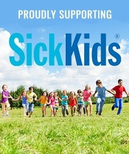 Proudly supporting sick kids