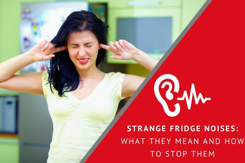 Strange Fridge Noises: What They Mean and How to Stop Them