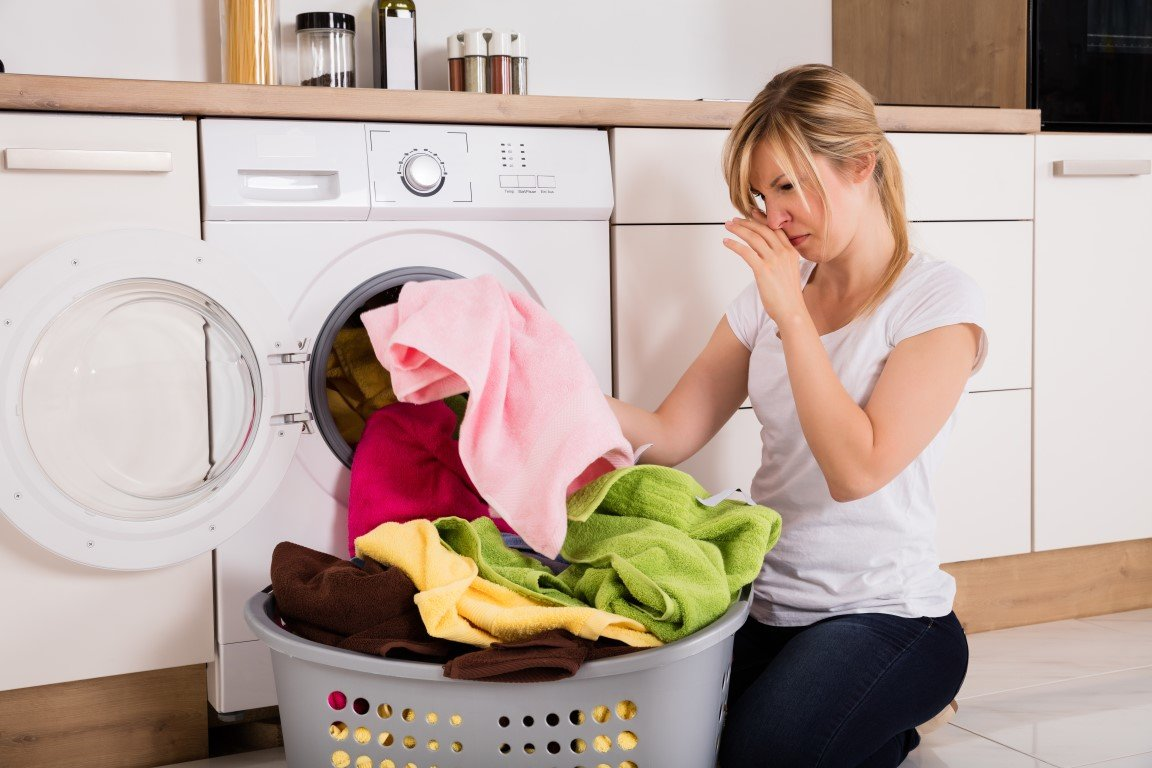 Why does my washer smell so bad?