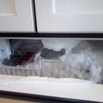 broken freezer