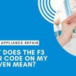 ge oven error code f3