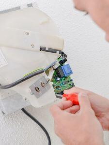 installaing new dryer