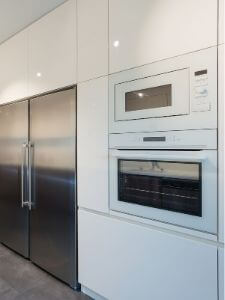 reliable built-in microwave installation