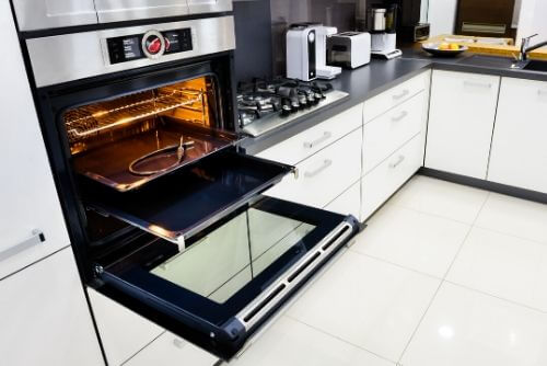 oven in-cabinet installation