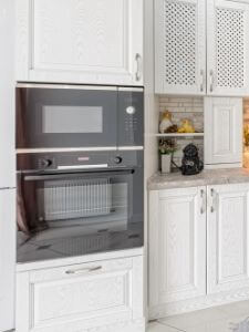 professional oven in-cabinet installations