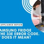samsung fridge repair error code e33
